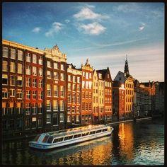 Rondvaart op de Amsterdamse gracht van @Miguel Hernández Loitxate (Miguel Loitxate)