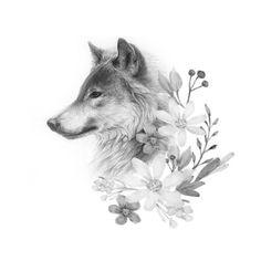 Ideas Tattoo Designs Wolf Wolves For 2019 Wolf Tattoo Back, Small Wolf Tattoo, Wolf Tattoo Sleeve, Sleeve Tattoos, Tattoo Wolf, Wolf Sleeve, Snake Tattoo, Trendy Tattoos, Cute Tattoos