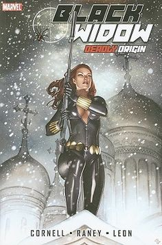 Black Widow: Deadly Origin Graphic Novel. Wow. This is... not good. Seriously, don't read it. Stick with the Edmonson/Noto run. Finished 10/10/15 #library