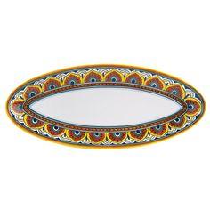Umbria Pavone Fish Platter
