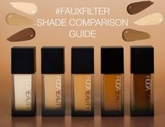 Your Ultimate Shade Comparison Guide - Beauty Informative Foundation Online, Mac Foundation, How To Match Foundation, Foundation Shade, Online Makeup Stores, Setting Spray, Makeup Collection, Beauty Photography, Huda Beauty