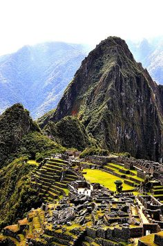 Machu Picchu! I can't wait to see this place next month.