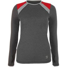 Sofibella Classic Long Sleeve Tennis Top will keep your skin looking as fresh as your shot selection! This quick drying microfiber top has UV protection and a crew neckline to protect your chest from UV rays. Anti-microbial fabric helps this top perform all day long, long after your win on the court! Feel great on the inside wearing clothes from this socially conscious company that produces its product in the USA