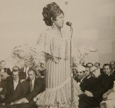 """""""The Soul of Puerto Rican Song,"""" Ruth Fernandez was a popular singer who broke both racial and gender barriers during the 1940s.  After learning to play the piano as a child, Fernandez began performing around her neighborhood in Ponce, and by the time she was 14, she had already formed her first group and was performing for 50 cents a day at local radio stations."""