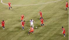 La foto que le sacaron a Messi en la final de la Copa Centenario y se volvió viral