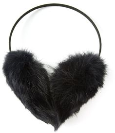 Meteo By Yves Salomon fur ear muffs