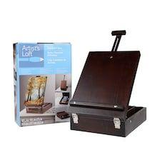 Easel Art Box By Artist S Loft With Images Box Art Artist S