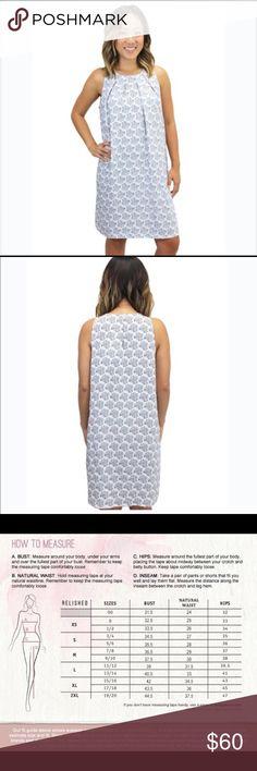 Beautiful Shift Dress Relished Lani Paisley Dress! Beautiful shift dress style to wear anywhere!   I have sizes:  2 small 2 medium  1 large Relished Dresses Mini