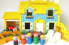 Fisher-Price Little People Play Family House | 32 Essential Toys Every '80s Preschooler Had