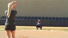 Softball Pitching Drills: Around the world - Amanda Scarborough