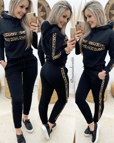 Pajama Outfits, Crop Top Outfits, Sporty Outfits, Girl Outfits, Cute Outfits, Fashion Outfits, Black Jeans Outfit, Kurti Designs Party Wear, Pinterest Fashion