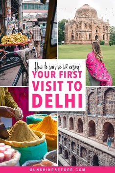 First time in New Delhi – How to survive (and have a good time)- . - First time in New Delhi – How to survive (and have a good time)- - New Delhi, India Travel Guide, Asia Travel, Restaurant Palma, Travel Guides, Travel Tips, Fun Travel, World History, Wanderlust