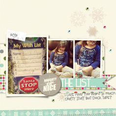 Christmas Daily 2012, Stampin' Up!, MDS, My Digital STudio