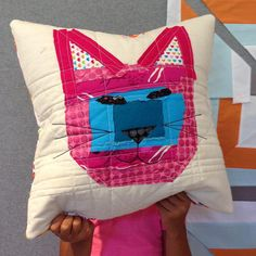 sew katie did    Meow Meow pillow finish.  Adults have so much to…