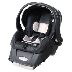 Snugli Infant Car Seat in Black Onyx | Overstock.com Shopping - Big Discounts on Evenflo Infant Car Seats