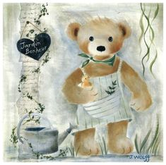 Joëlle Wolff Prints, Prints, Paintings & Wall Art for Sale Painting Collage, Frames For Canvas Paintings, Love Bears All Things, Bear Graphic, Bear Illustration, Joelle, Bear Wallpaper, Affordable Wall Art, Bear Art