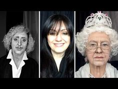 Lucia Pittalis...Celebrity Make-up Transformation Becomes Internet Sensation - YouTube. I am a HUGE fan of her makeup transformations!!!