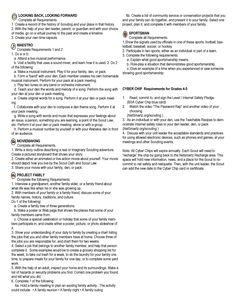 Cub Scout Page  Of  Of The Wolf Modified Requirements As Of Dec