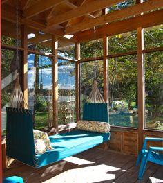 Lovely hammock bed