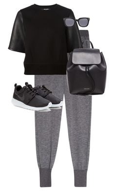 """""""Untitled #9947"""" by alexsrogers ❤ liked on Polyvore featuring Clu, Neil Barrett, NIKE, Mansur Gavriel and Tom Ford"""