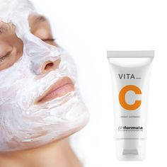 Infused with vitamin C leaving your skin revitalised and hydrated in the morning. Available from your pHformula skin specialist Skin Resurfacing, Oil Free Foundation, Skin Specialist, Overnight Mask, Prevent Wrinkles, Peeling, Wash Your Face, Radiant Skin, Vitamin C