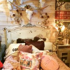 Junk Gypsy Bed Display