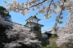 Unique Architecture, Japanese Architecture, Shirakawa Go, Japanese Castle, Japan Picture, Takayama, Famous Castles, Kanazawa, Ishikawa