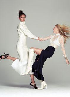 Elsa & Taylor / Fashion Magazine Canada 2015