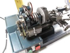 Cowell Precision Lathe - back gearing exposed Milling Machine, Machine Tools, Cnc, Diy Lathe, Small Lathe, Industrial Machine, Maker Shop, Old Tools, Tools And Equipment