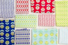 Color Me Retro by Jeni Baker for Art Gallery Fabrics