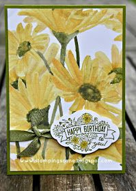 Independent UK Stampin' Up!® Demonstrator seller of paper craft supplies shares tips and ideas : Moving Along with the Times - English Country Garden Birthday Cards For Women, Happy Birthday Cards, Birthday Wishes, Daisy Delight Stampin' Up, Stampin Up Catalog 2017, Making Greeting Cards, Paper Craft Supplies, Paper Cards, Diy Cards