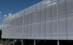 Bardage de façade en maille métallique LOUGHBOROUGH UNIVERSITY CAR PARK James & Taylor