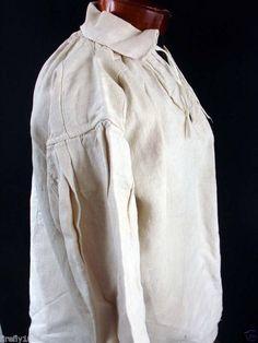 All The Pretty Dresses: 18th Century Men's Shirt