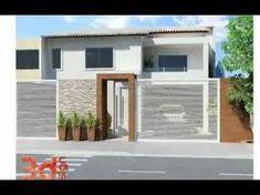 fachadas sencillas de casas de un piso - Buscar con Google