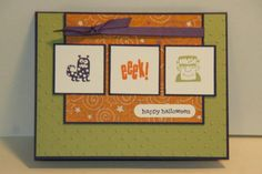 SC356 Spooky Bingo Bits Halloween Card by sn0wflakes - Cards and Paper Crafts at Splitcoaststampers