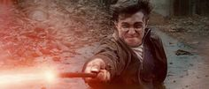 Harry Potter and the Deathly Hallows battle
