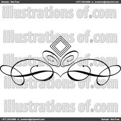 Royalty-Free (RF) Divider Clipart Illustration by KJ Pargeter - Stock Sample #223322