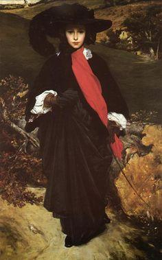 Portrait of May Sartoris, Lord Frederic Leighton Mark Rothko, Frederick Leighton, Agnes Grey, Lord, Pre Raphaelite, Art Database, Art Reproductions, Vintage Posters, Vintage Art