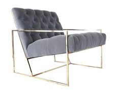 LIVING RM | BRASS CHAIR | CSIMPLICITY DESIGN | 2550 EA