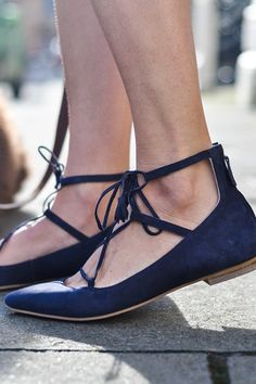 Thanks Fifi wears Boden Lille Lace-Ups. March 2015.