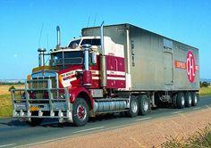 Kenworth Trucks, Mack Trucks, Big Rig Trucks, Old Trucks, Semi Trucks, Road Train, Cleveland, Clean Metal, Transportation