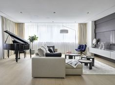 Residence in Moscow by Alexandra Fedorova | Interior | Pinterest ...