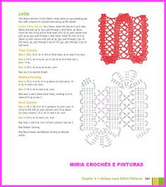 MIRIA CROCHÊS E PINTURAS: BARRADINHOS DE CROCHÊ N° 712