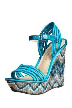 fun wedge sandals