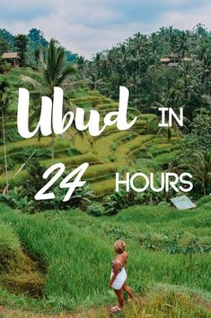 Find out how to spend one day in Ubud, Indonesia. With its rice fields, monkey forest and temples Ubud is known as Bali's cultural heart. Discover all the best things to do in Ubud if you only have 24 hours there.