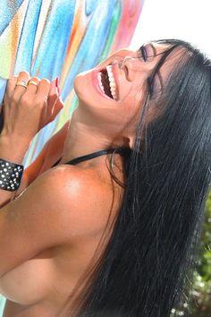 Michelle Lewin Modelo Venezolana