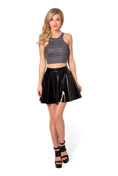 Chainmail Reversible Crop (48HR) by Black Milk Clothing $45AUD