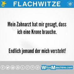 Flachwitze #241 - Krone vom Zahnarzt