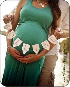 Cute maternity picture...and I'm in love with this name. :)