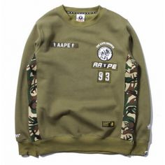 Army/Soldier look with BAPE! Bape Appe Universe Side Camo Troop Sweater #ABathingApe #Bape #sweater #streetwear #streetfashion #urbanwear | http://streetwearhub.com/outerwear/sweaters/bape-appe-universe-side-camo-troop-sweater-green